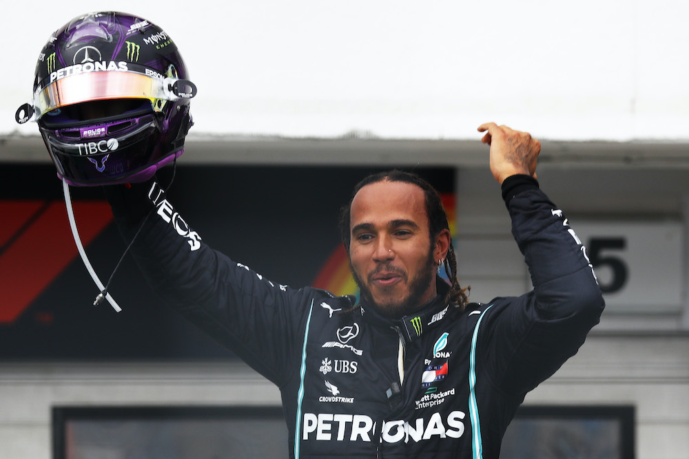 Lewis Hamilton at the Hungarian Grand Prix 2020