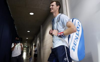Jamie Murray ahead of the final of the Schroders Battle of the Brits 2020, London