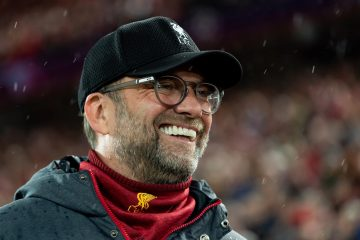 Liverpool head coach Juergen Klopp prior to the UEFA Champions League R16 second round between Liverpool & Atletico Madrid, 2020