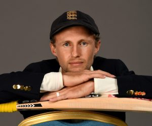 Joe Root during the England Cricket Team Portrait Session, Manchester UK