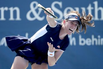 Johanna Konta in the second round of the Western & Southern Open 2020, New York, USA