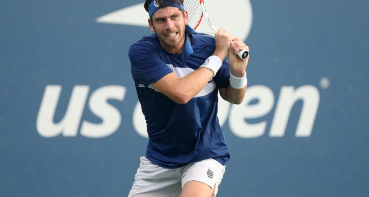Cameron Norrie in the second round of the 2020 US Open, New York, USA