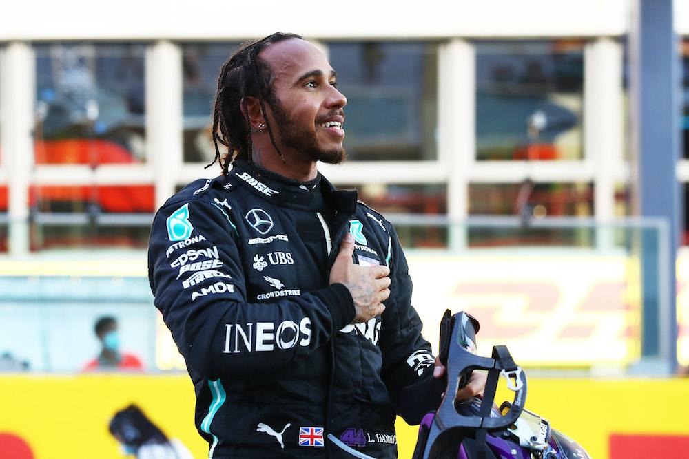 Lewis Hamilton at the Tuscany Grand Prix 2020