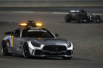 Safety Car out during the 2020 Bahrain GP