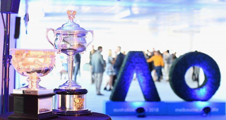 Australian Open trophies