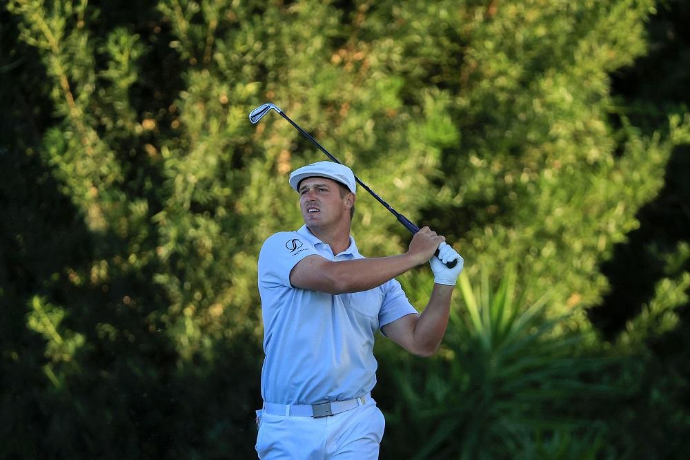Bryson DeChambeau in the final round of the 2021 Arnold Palmer Invitational, Orlando, Florida, USA