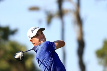 Justin Thomas during the final round of the 2021 Players Championship, Florida, USA