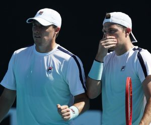 Ken and Neal Skupski in the 2021 Murray River Open, Melbourne, Australia