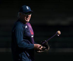 England cricket coach Chris Silverwood