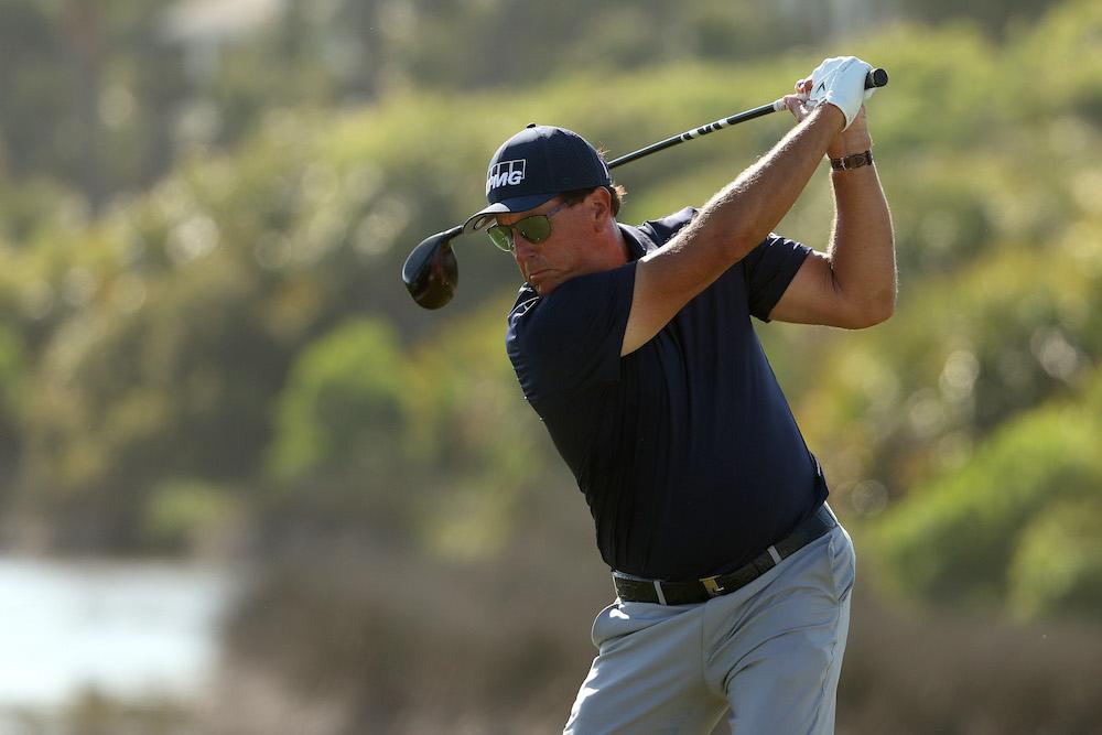 Phil Mickelson at the 2021 PGA Championships, South Carolina, USA