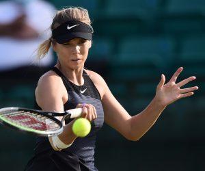 Katie Boulter at the 2021 Viking Open, Nottingham, UK