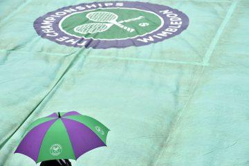 Rain at Wimbledon