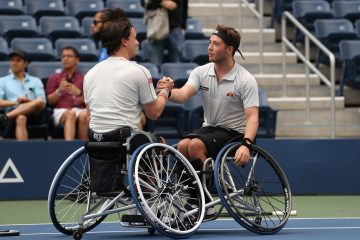Gordon Reid and Alfie Hewett winning the 2021 US Open Wheelchair Doubles title