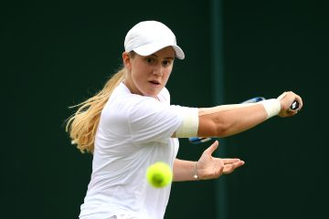 Sonay Kartal in the 2019 Wimbledon Girls' competition